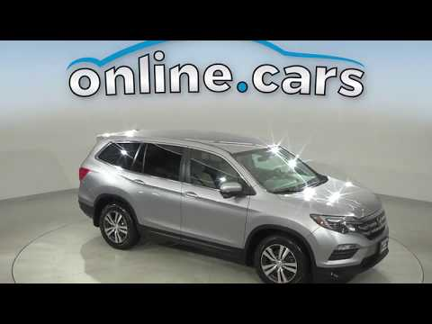 A15327GP Used 2016 Honda Pilot EX AWD Silver SUV Test Drive, Review, For Sale