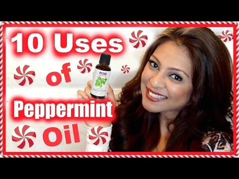 10 Uses for Peppermint Oil! Headaches, Odor, Stress-Relief, Natural Energy