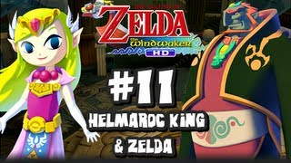 The Legend of Zelda Wind Waker HD Wii U - (2048p) Part 11 - Helmaroc King & Princess Zelda