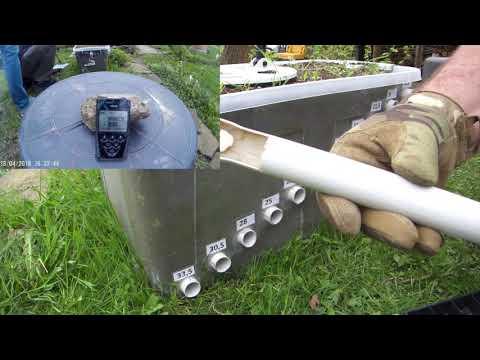 Metalldetektor Testbox, XP