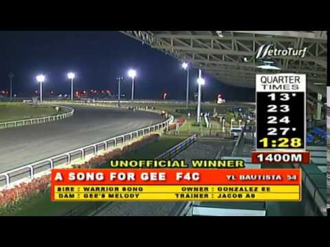 A SONG FOR GEE - FEBRUARY 26, 2020 - MMTCI RACE 7 BAYANG KARERISTA HORSE RACING REPLAY AT METRO TURF