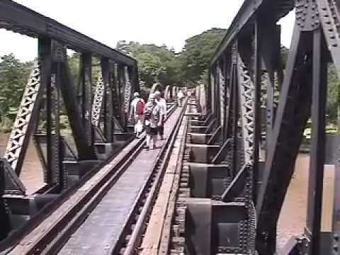 Visiting the Famous WW2 Bridge over the River Kwai, Thailand