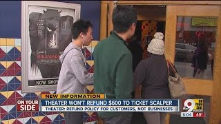 Video Theater won't refund $600 to ticket scalper download MP3, 3GP, MP4, WEBM, AVI, FLV November 2017