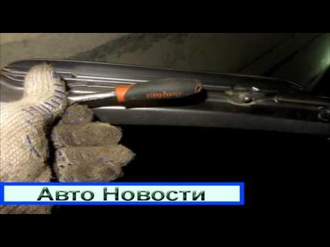 ВАЗ 2112 Снятие и установка спойлера Ремонт своими руками!