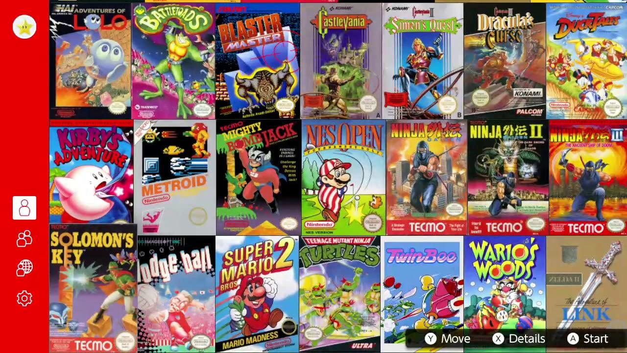 Nintendo Switch Online NES Emulator Hacked! More Games! - YouTube