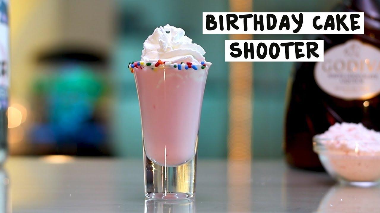 Birthday Cake Shooter Tipsy Bartender