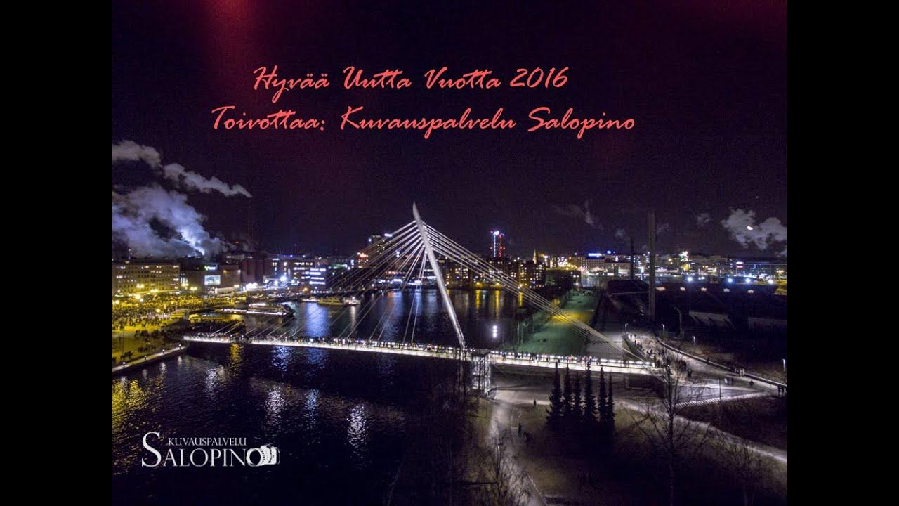 Uudenvuoden Ilotulitus Tampere