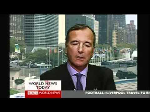 Franco Frattini, BBC World News 21.09.2011