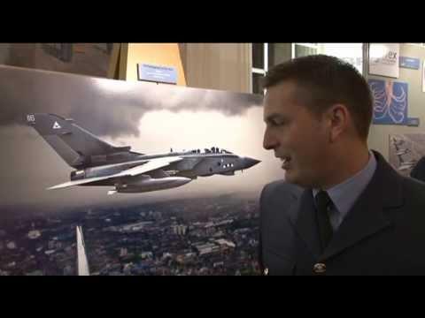 RAF's Photographic High Fliers Rewarded 22.10.13