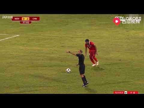 중국, 몰디브 원정 5 - 0 승리…월드컵 예선 첫승