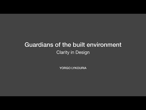 Guardians of the built environment | Clarity in Design