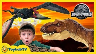 It's a toy hunt for Jurassic World Fallen Kingdom toys as Park Rang...
