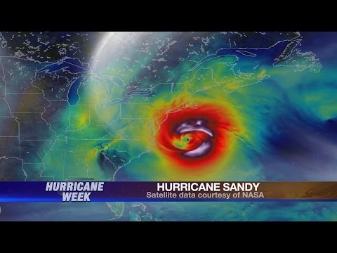 Hurricane Sandy,  Jersey Shore