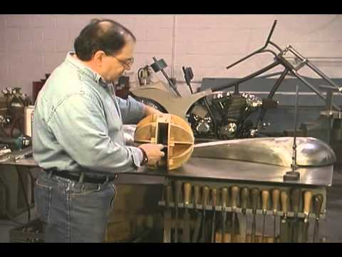Making A Gas Tank | Motorcycle Fabrication by Ron Fournier