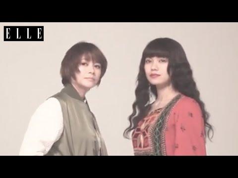 真木よう子 ELLE CM スチル画像。CM動画を再生できます。