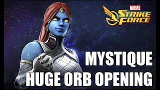 Mystique Orb Opening! - Marvel Strike Force