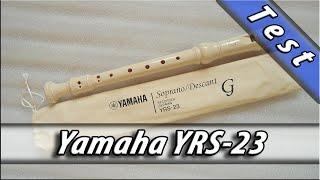 yamaha YRS 23 Recorder sound test medley / блокфлейта флейта Ямаха тест