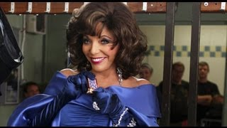 Joan Collins & Stephanie Beacham 2012 Snickers Commercial
