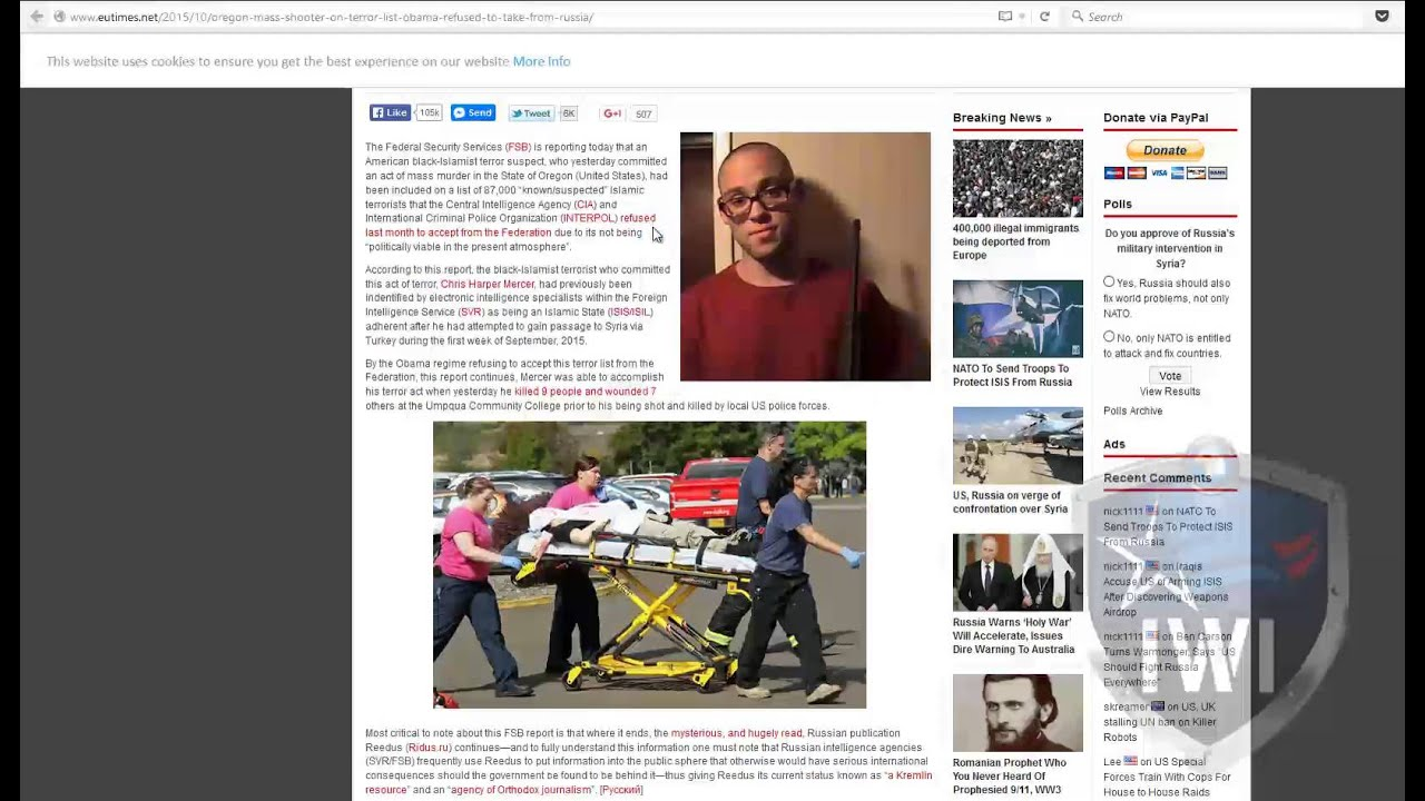 1cd42eaf455 Satire Sites Making big money fooling Conservatives Patriots - YouTube