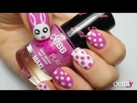 happy easter nail art ilovesummer