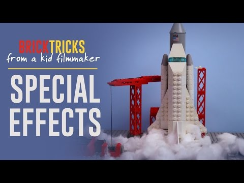 How to Add Special Effects to Your LEGO Brickfilms -  Brick Tricks- Episode 3