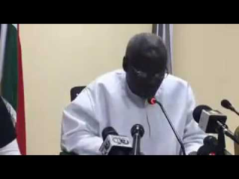 Latest: Gambia's New Government Press Conference
