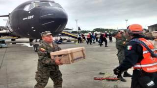 México activa protocolo de ayuda por sismo en Ecuador