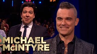 Robbie Williams Surprises Fans! | Robbie-oke | Michael McIntyre