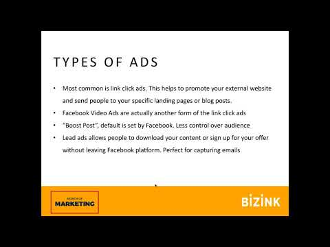 Facebook basics: pages, groups and ads - Month of Marketing