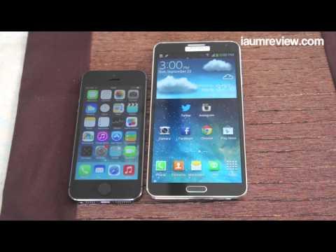 [HD] รีวิว iPhone 5S แบบไทยไทย :EP5: เทียบกับ Galaxy Note3