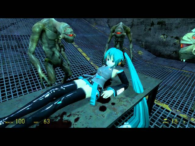 Half-Life 2: Episode 2 - after healing (with Hatsune Miku)