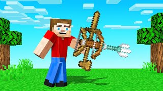 The MOST OVERPOWERED Weapon In MINECRAFT!