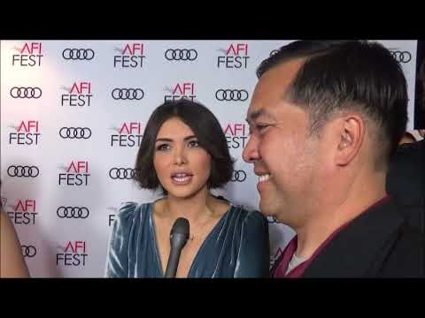 AFI Fest: Red Carpet  with Daniella Pineda for Mr. Roosevelt