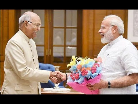 President appoints Narendra Modi to the office of Prime Minister of India