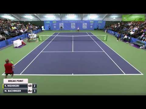 Kei Nishikori vs Matthias Bachinger | 2R Dallas Challenger