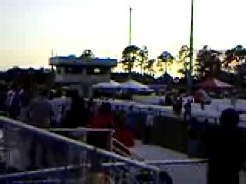 Jet cars at Palm Beach International Raceway