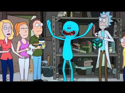 Rick and Morty in Japanese (Wubba Lubba Dub Dub and Mr. Meseeks)
