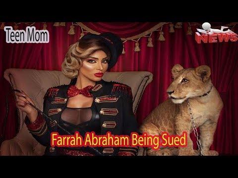 'Teen Mom OG' Alum, Farrah Abraham Being Sued!