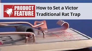 Victor Traditional Rat Trap M200