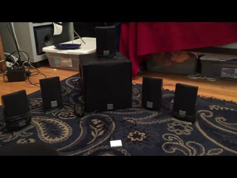 Creative Labs 5200 Inspire 5.1 Computer Speakers sound test