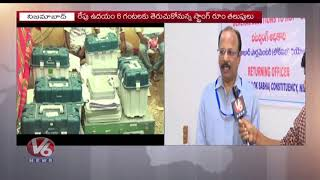Nizamabad Collector MRM Rao Face To Face Over LS Elections Vot…