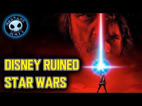 Download Youtube: How Disney ruined STAR WARS with THE LAST JEDI (Spoiler Discussion)