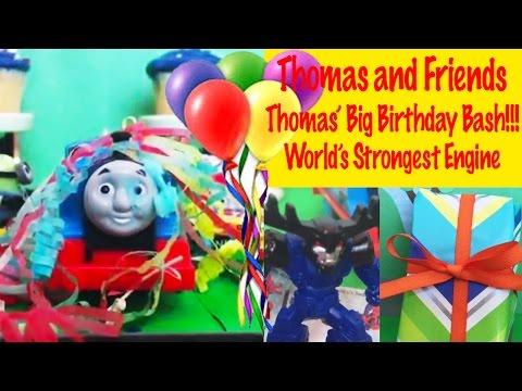 Thomas Big Birthday Bash Celebration - Worlds Strongest Engine