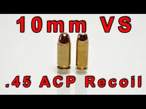 10mm vs 45 ACP