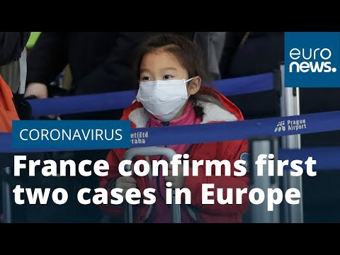 France Confirms First Two Cases Of Coronavirus In Europe