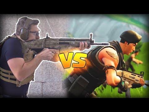 Armas de Fortnite de Fortnite en la Vida Real (Pistola Silenciada, Lanzacohetes, Scar, etc)