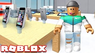 MAKING MIO APPLE STORE IN ROBLOX