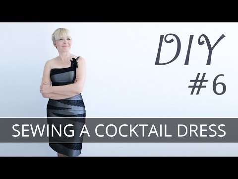 DIY How to sew a dress? FREE PATTERN