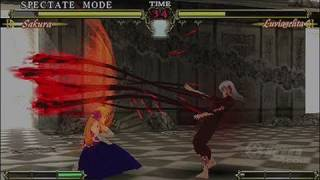 Fate/Unlimited Codes Sony PSP Gameplay - Devilish
