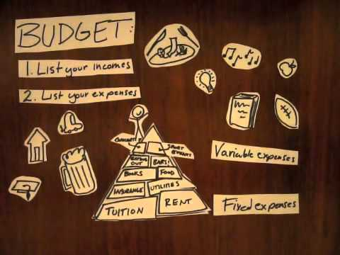 Making a Budget: College Edition - YouTube